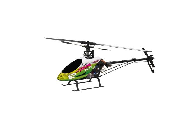 Elicottero 500 : Elicottero elettrico e rix ch d mode ii brushless