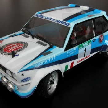 131 rally wrc rtr con luci 2