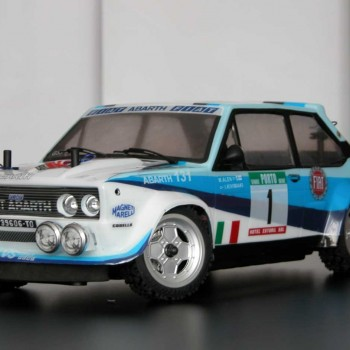 131 rally wrc rtr con luci