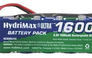 Batteria NiMh 6V 1600 mAh UNI  Art. RCSAHCAM6342