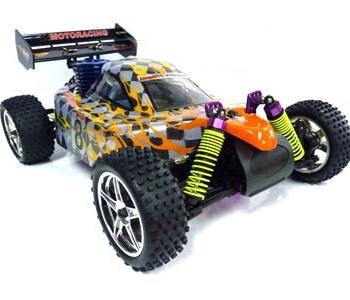 Automodello scala 1a10 Buggy 4wd  RTR Art. RCHI 8102