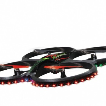 Flyscout AHP con LED + Video e Foto